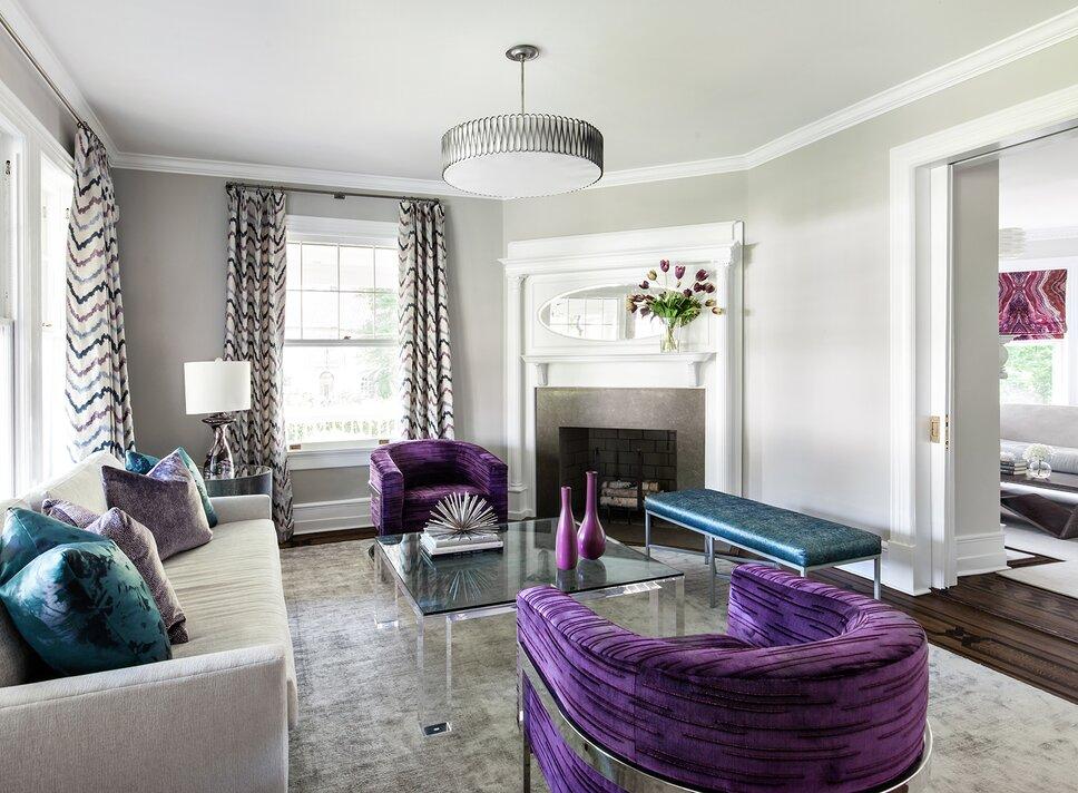Living Space Modern & Contemporary Living Room Design