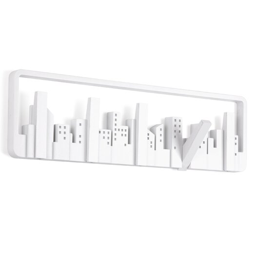 Umbra Loft Wall Decor : Umbra skyline hook wall mounted coat rack reviews