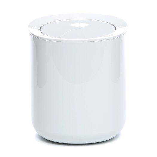 birillo bathroom 1 gallon swing top plastic trash can reviews allmodern. Black Bedroom Furniture Sets. Home Design Ideas