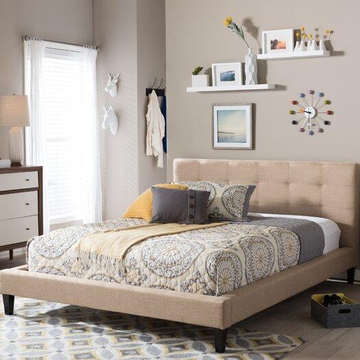 Brayden Studio Frisina Upholstered Platform Bed Amp Reviews