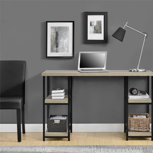 Comet Double Pedestal Writing Desk Amp Reviews Allmodern