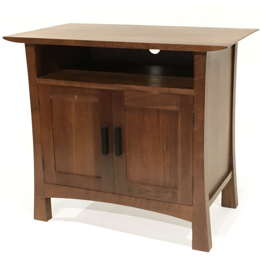 Gingko home furnishings saito tv stand allmodern for All home decor furniture