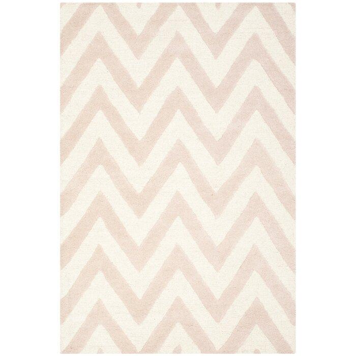 wilson handtufted light pinkivory area rug