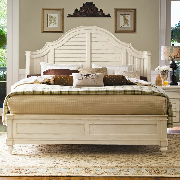 Paula Deen Home Steel Magnolia Platform Customizable Bedroom Set Reviews Wayfair