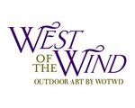 West of the Wind Outdoor Canvas Art