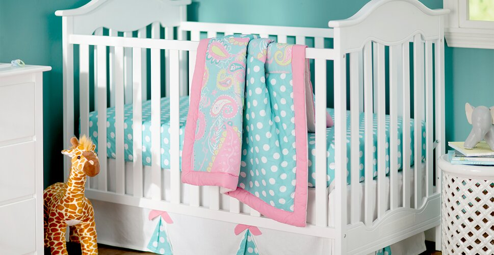 Cheapest Place To Buy Baby Furniture #15: Playfully Patterned Nursery