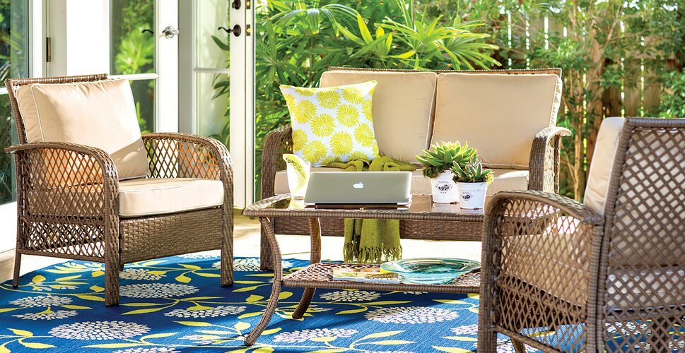 Patio Seating Groups & Chairs - Patio Lounge Furniture You'll Love