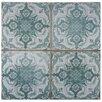 Elitetile Artisanal 13 Quot X 13 Quot Ceramic Field Tile In Azul