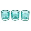 Woood 12-tlg. Teelichthalter-Set Clear Be Pure aus Glas