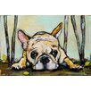 Marmont Hill Smushy' Art Print Wrapped on Canvas