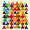 Marmont Hill Leinwandbild Fugue, Grafikdruck