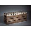 Tiffany Jayne Designs Upholstered Storage Bedroom Bench