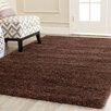Safavieh Milan Shag Brown Rug