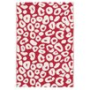 Dash and Albert Rugs Spot Red/White Area Rug