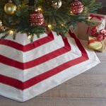 Northlight Peppermint Twist Sequined Stripes Christmas