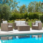 Polywood 174 Club 5 Piece Deep Seating Group With Cushions