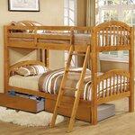 Wildon Home 174 San Anselmo Twin Over Full Bunk Bed