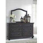 Signature Design By Ashley Zarollina Crowned Top Dresser