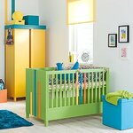 L A Baby Napa Metal 3 In 1 Convertible Crib Amp Reviews