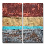 All My Walls Tide Pools By Kelli Money Huff 2 Piece