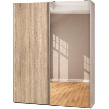 cs schmal schwebet renschrank soft smart 193 cm x 150 cm b x 42 cm t bewertungen. Black Bedroom Furniture Sets. Home Design Ideas