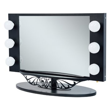 Vanity Girl Hollywood Starlet Lighted Vanity Mirror & Reviews Wayfair.ca