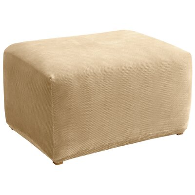 - Sure Fit Stretch Pique Ottoman Slipcover & Reviews Wayfair