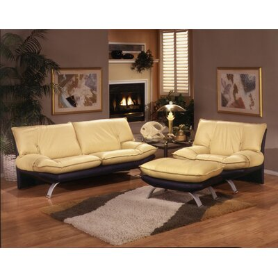 Omnia Leather Princeton Leather Configurable Living Room Set ...