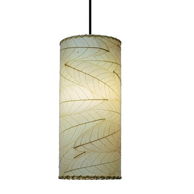 Eangee Home Design Cylinder 1-Light Mini Pendant & Reviews | Wayfair