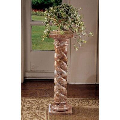 Design Toscano Venetian Doges Pedestal Plant Stand Reviews Wayfair - Column pedestal plant stand