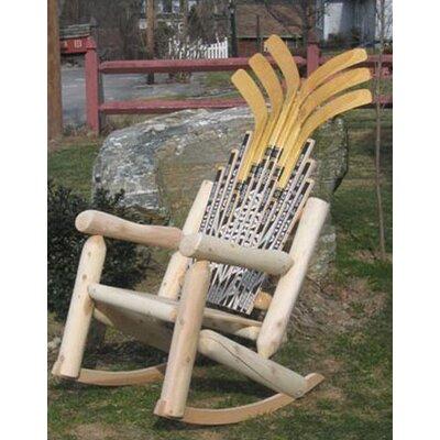 Ski Chair Hockey Stick Rocking Chair U0026 Reviews | Wayfair