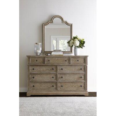 Stanley Wethersfield Estate 9 Drawer Dresser With Mirror U0026 Reviews | Wayfair