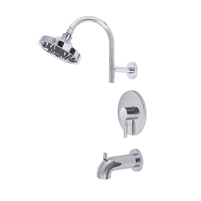 Premier Faucet Essen Single Handle Volume Control Tub and Shower ...