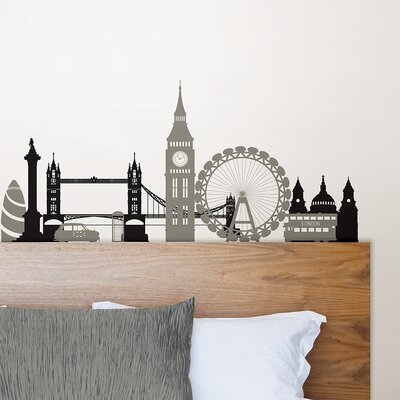 Small Wall Art wallpops! wall art kit london calling small wall decal & reviews