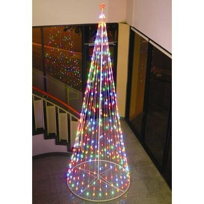 Homebrite Solar String Light Cone Tree Christmas Decoration with ...
