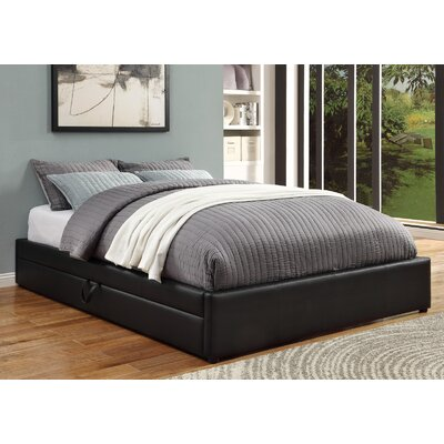 home queen upholstered storage platform bed size with headboard cushioned