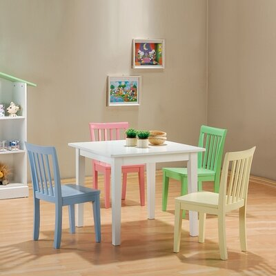 Wildon Home Fort Stevens Kids 5 Piece Table and Chair Set