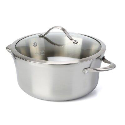 calphalon stainless steel 65 qt stock pot with lid u0026 reviews wayfair - Calphalon Reviews