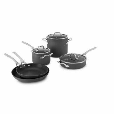 calphalon calphalon signature 8 piece nonstick cookware set u0026 reviews wayfair - Calphalon Cookware Set