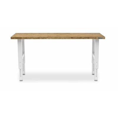 Gladiator Premier Series Adjustable Height Wood Top Workbench ...