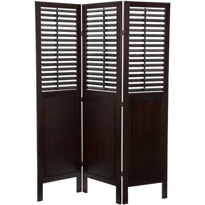 Oriental Furniture 7075 x 525 Dutch Shutter 3 Panel Room