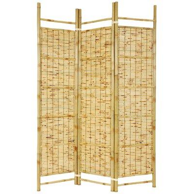 Oriental Furniture 72 X 51 Bamboo Tree Burnt Shoji 3 Panel Room Divider Reviews Wayfair