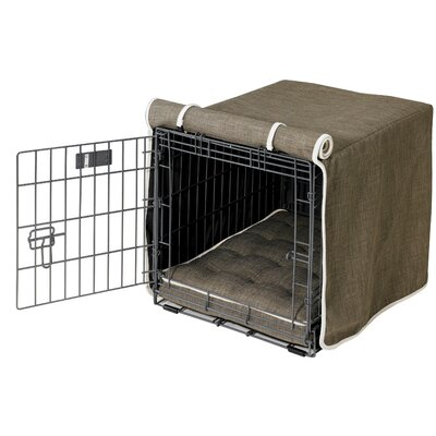 Dog Crate Covers bowsers luxury dog crate cover & reviews | wayfair