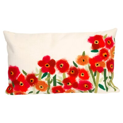August Grove Kaylee Poppies Outdoor Lumbar Pillow U0026 Reviews | Wayfair