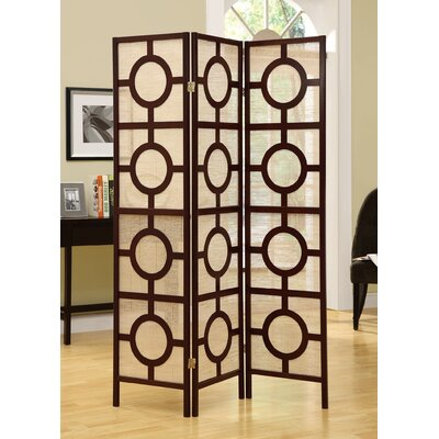 Monarch Specialties Inc 71 x 52 Frame 3 Panel Room Divider