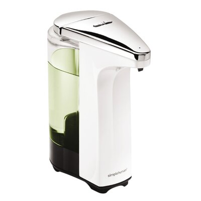 Simplehuman 8 Oz Sensor Soap Dispenser Reviews Wayfair