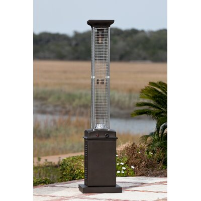 Attractive Fire Sense Flame 46,000 BTU Propane Patio Heater U0026 Reviews | Wayfair  Fire Sense Patio Heater
