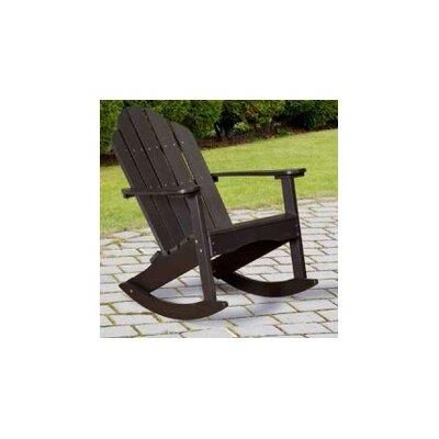 little cottage company classic adirondack rocker chair u0026 reviews wayfair - Adirondack Rocking Chair