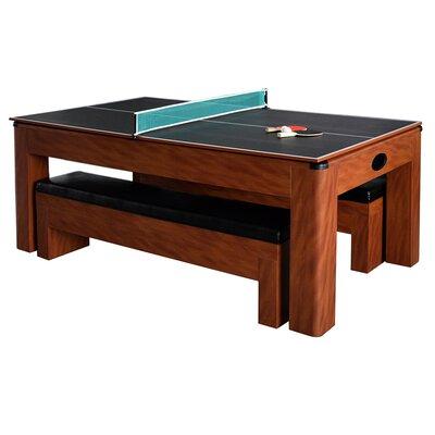 Hathaway Games Sherwood 7u0027 Air Hockey With Table Tennis U0026 Reviews | Wayfair