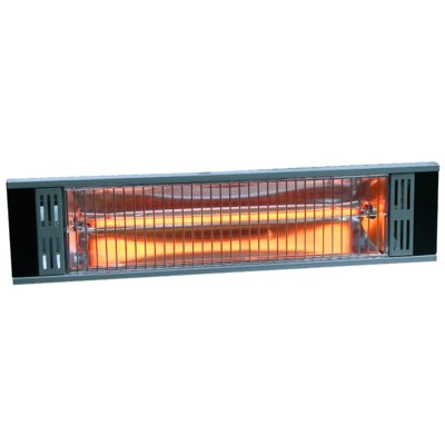 Heat Storm Tradesman Outdoor 1500 Watt Electric Mounted Patio Heater U0026  Reviews | Wayfair